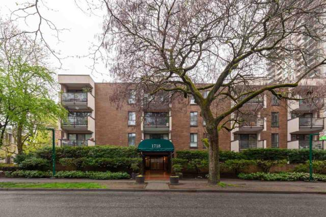 1718 Nelson Street #307, Vancouver, BC V6G 1M8 (#R2360835) :: TeamW Realty
