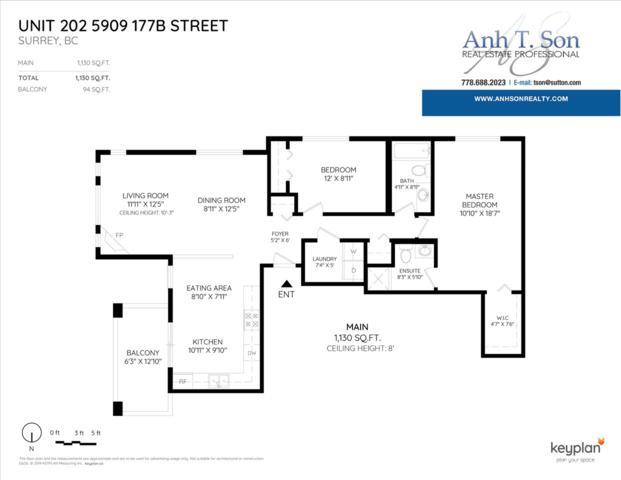 5909 177B Street #202, Surrey, BC V3S 4J7 (#R2369404) :: Vancouver Real Estate