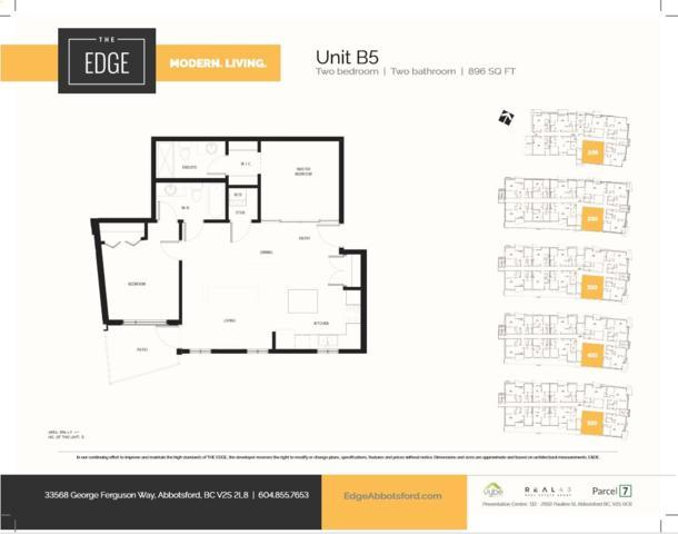 33568 George Ferguson Way #210, Abbotsford, BC V2S 2L8 (#R2369639) :: Vancouver Real Estate