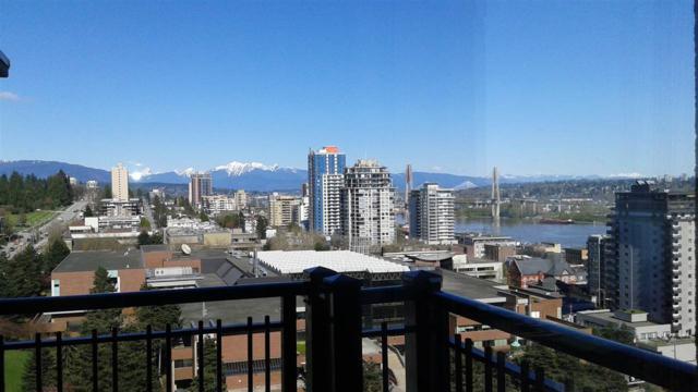 814 Royal Avenue #1605, New Westminster, BC V3M 1J9 (#R2370586) :: Vancouver Real Estate