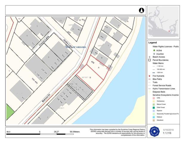 & Lot B Marine Drive #458, Gibsons, BC V0N 1V0 (#R2371243) :: RE/MAX City Realty