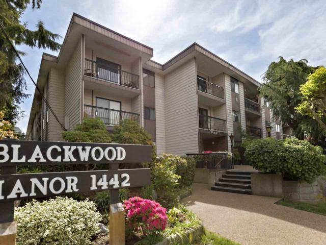 1442 Blackwood Street #210, White Rock, BC V4B 3V5 (#R2371714) :: Royal LePage West Real Estate Services