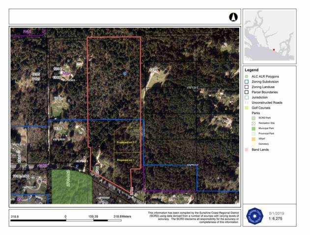LOT 1 Malcolm Creek Road, Roberts Creek, BC V0N 2W3 (#R2373274) :: RE/MAX City Realty