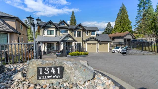 1341 Willow Way, Coquitlam, BC V3J 5M2 (#R2373678) :: Royal LePage West Real Estate Services