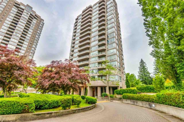 9633 Manchester Drive #907, Burnaby, BC V3N 4Y9 (#R2374451) :: Royal LePage West Real Estate Services