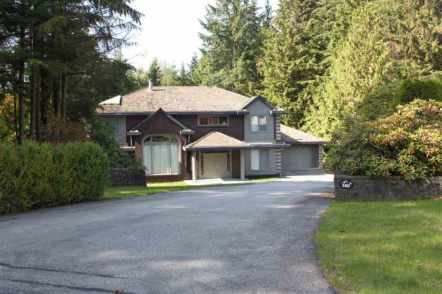 140 Seymour View Road, Anmore, BC V3H 4X9 (#R2375320) :: Royal LePage West Real Estate Services