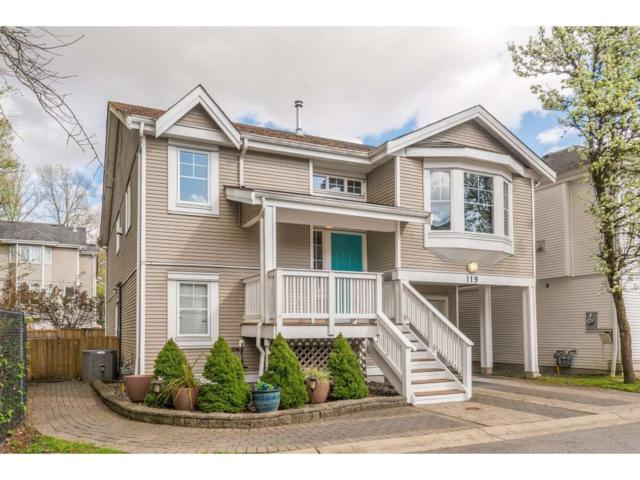 3000 Riverbend Drive #119, Coquitlam, BC V3C 6R1 (#R2377196) :: Royal LePage West Real Estate Services