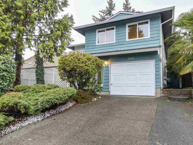 3143 Sechelt Drive, Coquitlam, BC V3B 5X8 (#R2378539) :: Royal LePage West Real Estate Services