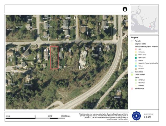 Lot B Wharf Road, Gibsons, BC V0N 1V6 (#R2378675) :: RE/MAX City Realty