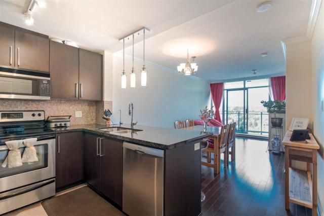 888 Carnarvon Street #3707, New Westminster, BC V3M 0C6 (#R2380630) :: Royal LePage West Real Estate Services