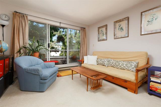 2057 W 3RD Avenue #202, Vancouver, BC V6J 1L4 (#R2380814) :: Royal LePage West Real Estate Services
