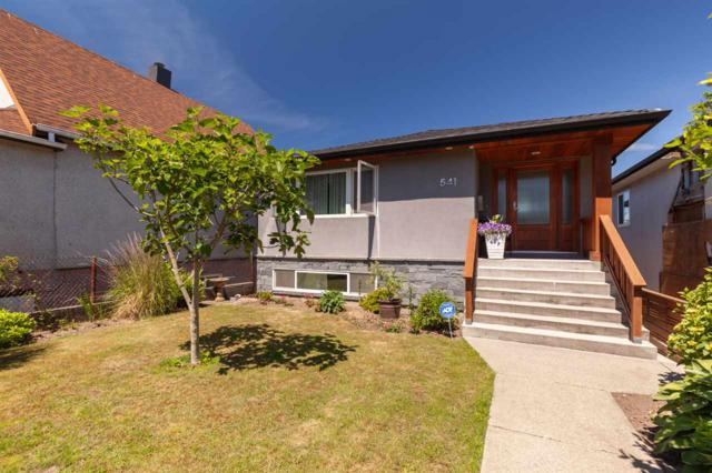 541 E 28TH Avenue, Vancouver, BC V5V 2N4 (#R2380881) :: Royal LePage West Real Estate Services