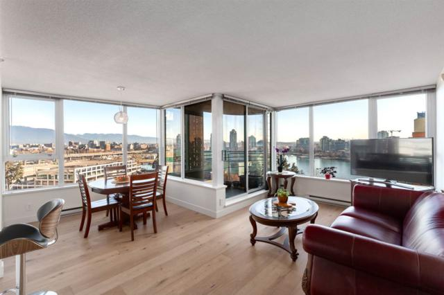 33 Smithe Street #1502, Vancouver, BC V6B 0B5 (#R2380921) :: Royal LePage West Real Estate Services
