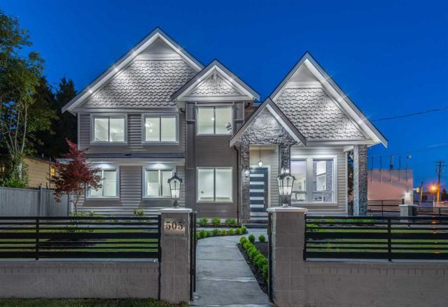 505 Hillcrest Street, Coquitlam, BC V3J 6N4 (#R2381171) :: Royal LePage West Real Estate Services
