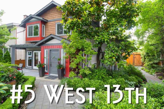 5 W 13TH Avenue, Vancouver, BC V5Y 1V5 (#R2381173) :: Royal LePage West Real Estate Services