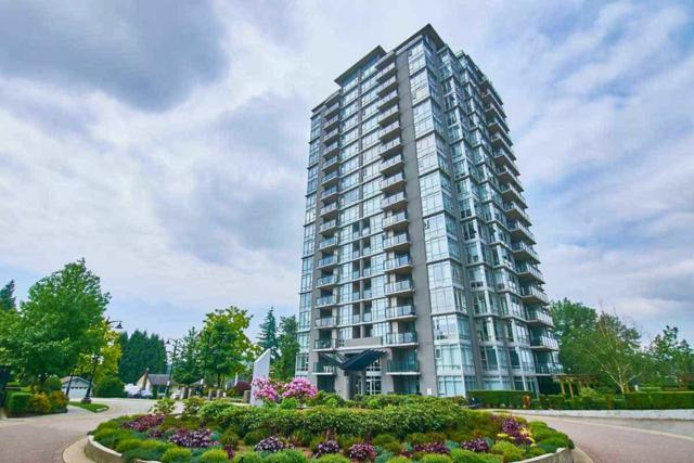 555 Delestre Avenue #805, Coquitlam, BC V3K 0A9 (#R2381385) :: Royal LePage West Real Estate Services