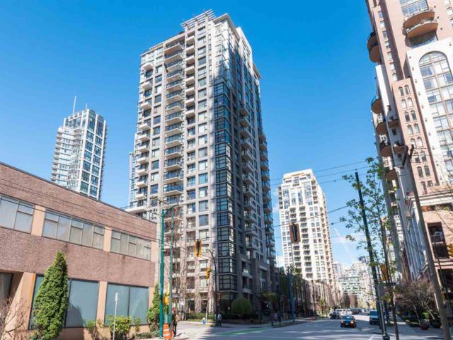 1295 Richards Street #1804, Vancouver, BC V6B 1B7 (#R2381435) :: Royal LePage West Real Estate Services