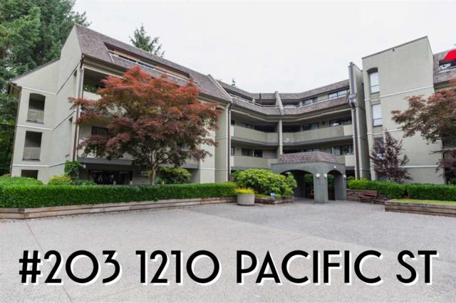 1210 Pacific Street #203, Coquitlam, BC V3B 6K3 (#R2381481) :: Royal LePage West Real Estate Services