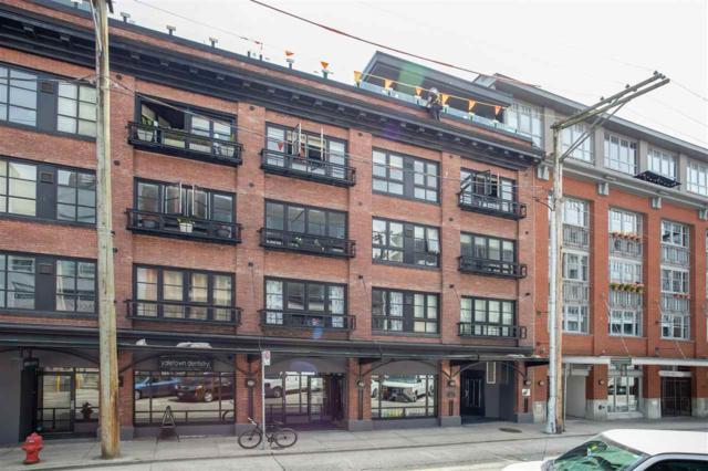 1066 Hamilton Street #303, Vancouver, BC V6B 2R9 (#R2381542) :: Royal LePage West Real Estate Services