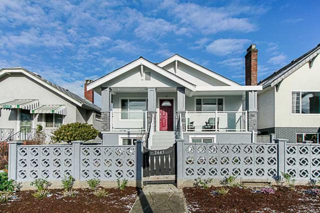 2645 Triumph Street, Vancouver, BC V5K 1T1 (#R2381550) :: Royal LePage West Real Estate Services