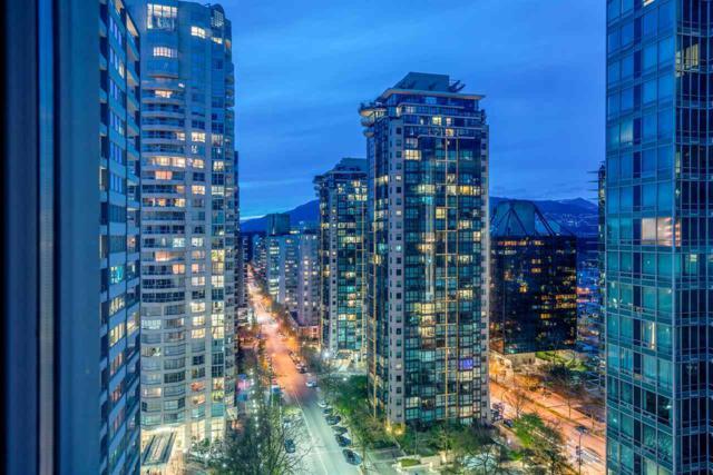1288 Alberni Street #1605, Vancouver, BC V6E 4N5 (#R2382065) :: Royal LePage West Real Estate Services