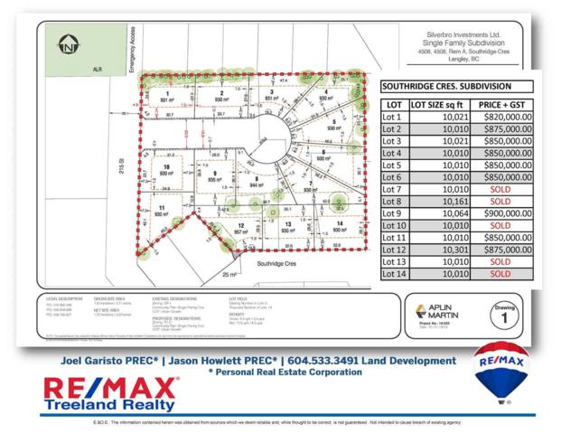 4506 Southridge Crescent Lot 2, Langley, BC V3A 4N6 (#R2389984) :: Premiere Property Marketing Team