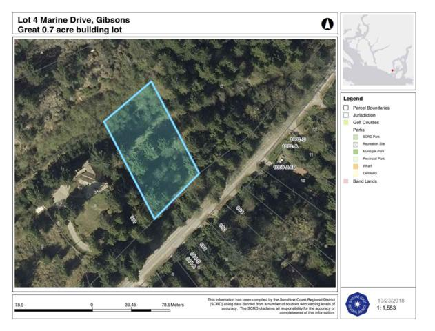 Lot 4 Marine Drive, Granthams Landing, BC V0N 1V0 (#R2396801) :: RE/MAX City Realty