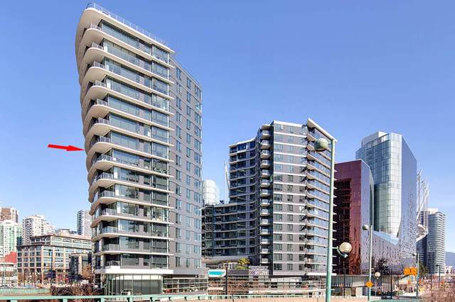 68 Smithe Street #1210, Vancouver, BC V6B 0P4 (#R2405438) :: Vancouver Real Estate