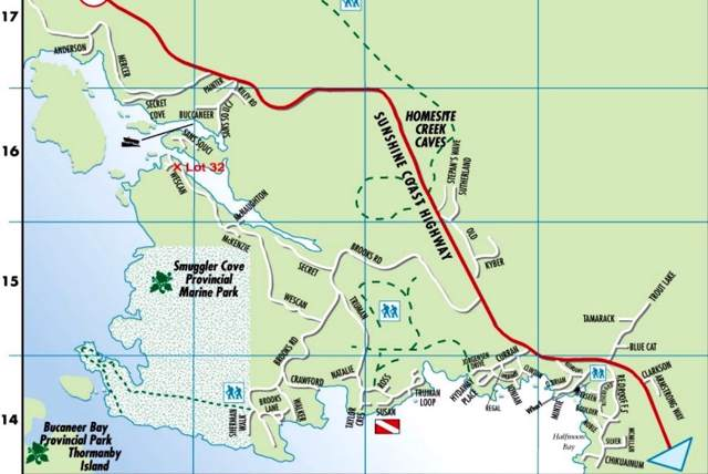 LOT 32 Wescan Road, Halfmoon Bay, BC V0N 1Y2 (#R2412073) :: RE/MAX City Realty