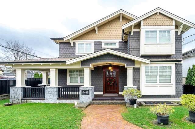 3228 E 45TH Avenue, Vancouver, BC V5R 3E3 (#R2423482) :: Ben D'Ovidio Personal Real Estate Corporation | Sutton Centre Realty