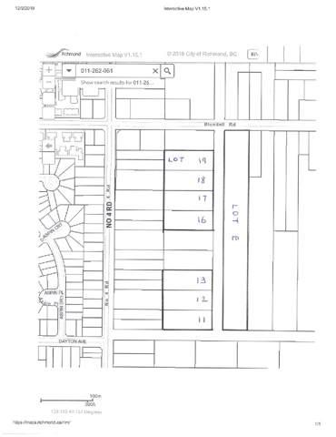 Blundell Road Lot 19, Richmond, BC V0V 0V0 (#R2423495) :: RE/MAX City Realty