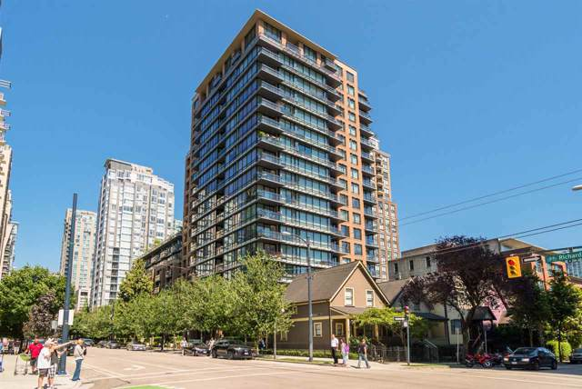 1088 Richards Street #508, Vancouver, BC V6B 0J8 (#R2423793) :: Macdonald Realty