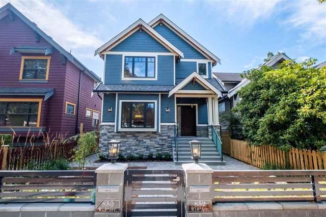 852 W 18TH Avenue, Vancouver, BC V5Z 1W3 (#R2426137) :: Premiere Property Marketing Team