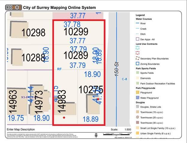 10299 150 Street, Surrey, BC V3R 4B1 (#R2430712) :: 604 Realty Group