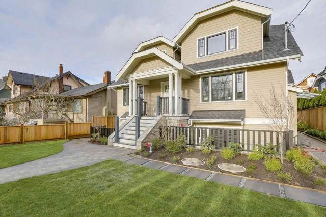 2513 W 8TH Avenue, Vancouver, BC V6K 2B3 (#R2431005) :: Macdonald Realty