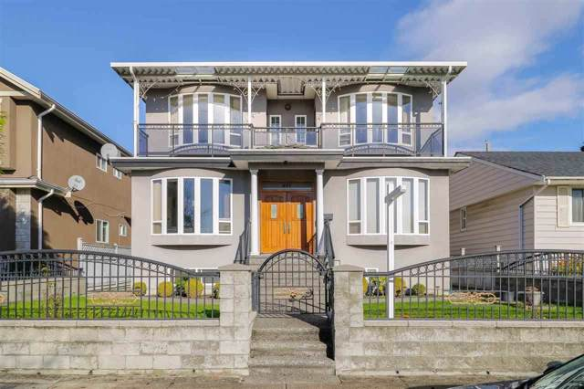 417 E 61ST Avenue, Vancouver, BC V5X 2B7 (#R2431493) :: RE/MAX City Realty