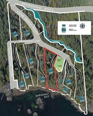 Lot 4 Cove Beach Road, Halfmoon Bay, BC V0N 1Y1 (#R2471246) :: RE/MAX City Realty