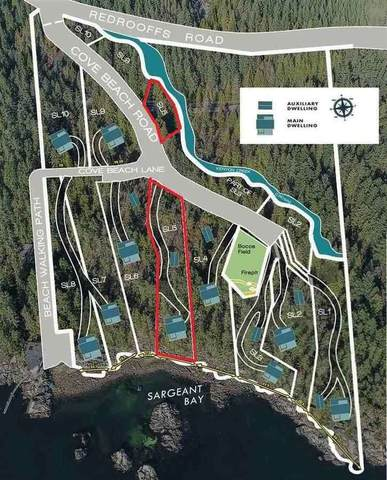 Lot 5 Cove Beach Road, Halfmoon Bay, BC V0N 1Y1 (#R2471296) :: RE/MAX City Realty
