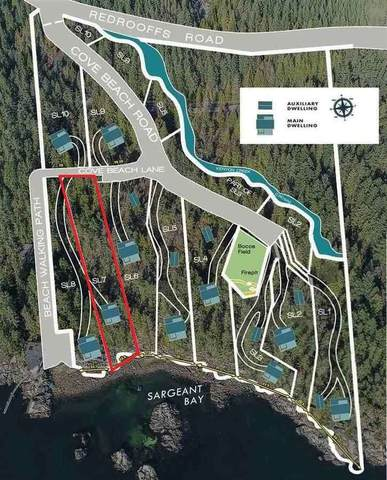 Lot 7 Cove Beach Lane, Halfmoon Bay, BC V0N 1Y1 (#R2471313) :: RE/MAX City Realty