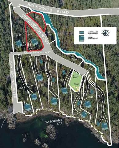 Lot 9 Cove Beach Lane, Halfmoon Bay, BC V0N 1Y1 (#R2471325) :: RE/MAX City Realty
