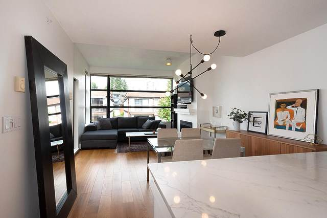 124 W 3RD Street #508, North Vancouver, BC V7M 1E8 (#R2472557) :: 604 Realty Group