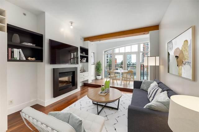 1275 Hamilton Street #404, Vancouver, BC V6B 1E2 (#R2473973) :: Initia Real Estate