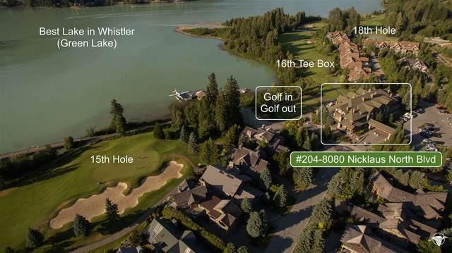 8080 Nicklaus North Boulevard #204, Whistler, BC V8E 1J7 (#R2481882) :: 604 Home Group