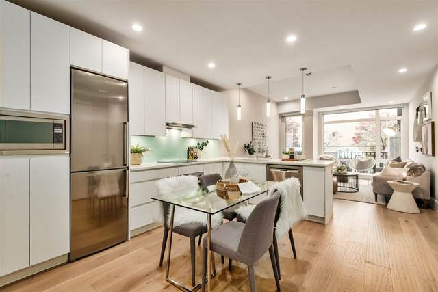 1591 Bowser Avenue #105, North Vancouver, BC V7P 2Y4 (#R2487262) :: Ben D'Ovidio Personal Real Estate Corporation | Sutton Centre Realty