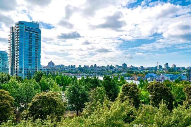 583 Beach Crescent #605, Vancouver, BC V6Z 3E6 (#R2499227) :: Premiere Property Marketing Team