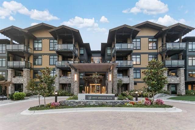 4977 Springs Boulevard #414, Delta, BC V4M 0C1 (#R2499771) :: 604 Realty Group