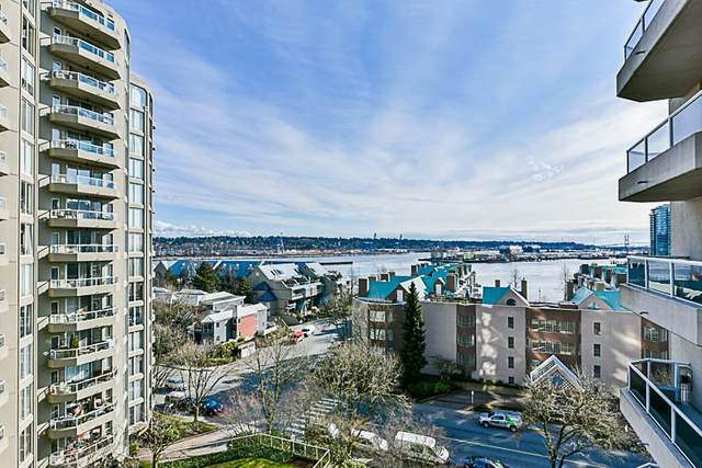 1185 Quayside Drive #906, New Westminster, BC V3M 6T8 (#R2500260) :: Ben D'Ovidio Personal Real Estate Corporation | Sutton Centre Realty