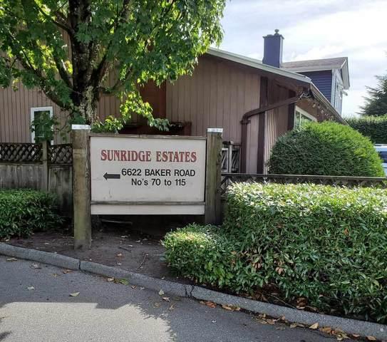6622 Baker Road #77, Delta, BC V4E 2V1 (#R2500799) :: 604 Realty Group