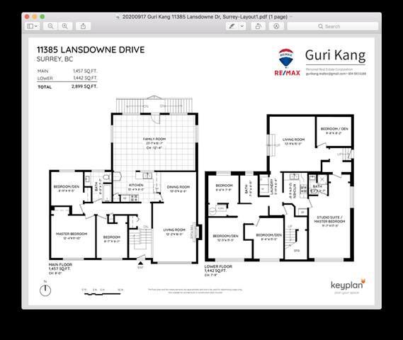 11385 Lansdowne Drive, Surrey, BC V3R 4Z8 (#R2501793) :: Premiere Property Marketing Team