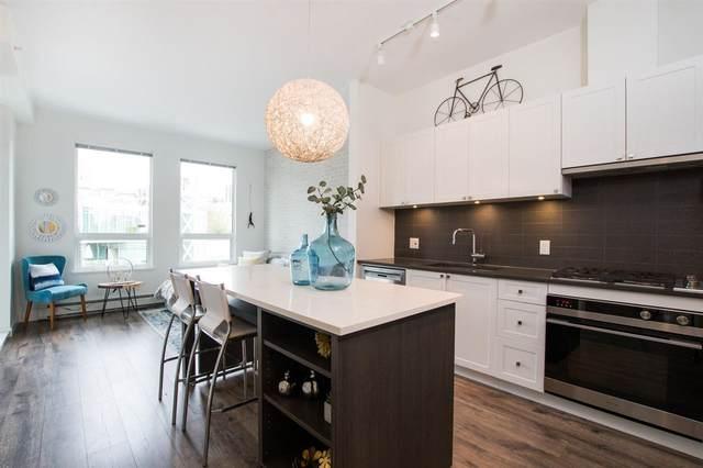 105 W 2ND Street #406, North Vancouver, BC V7M 0E3 (#R2501806) :: Premiere Property Marketing Team